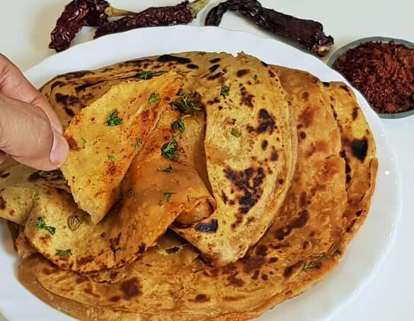 Masala Paratha - Marathi Recipe | Madhura's Recipe