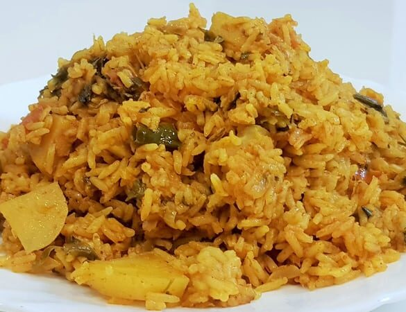 Nilanga Rice - Marathi Recipe | Madhura's Recipe