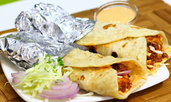 Paneer Frankie - Marathi Recipe | Madhura's Recipe