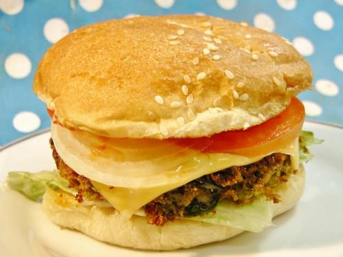 Veggie Burger Madhura S Recipe